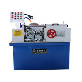 Large intelligent automatic CNC threaded rod hydraulic thread rolling machine