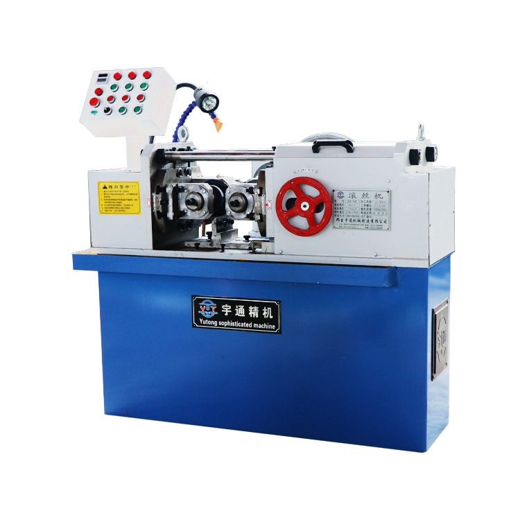 Fully automatic thread rolling machine