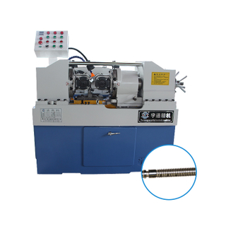 Hebei manufacturers supply straight thread reinforcement rib stripping and threading machine